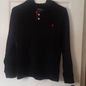 Ralph Lauren cotton pullover with hood